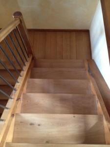 Escalier revernis vernis Blanchon Intensiv mat